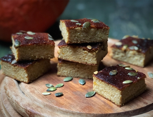 Pompoencake met speculaaskruiden, het echte herfstgevoel!